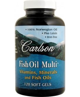 FISH OIL MULTI VITAMIN 120 S-GELS