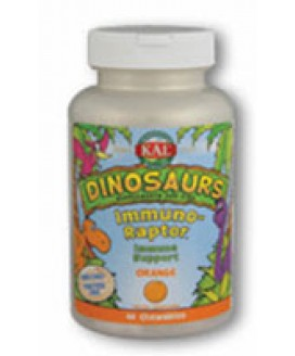 IMMUNORAPTORS 60 ORANGE CHEWABLE DINASOURS