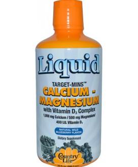 LIQUID CALCIUM MAGNESIUM D3  16OZ
