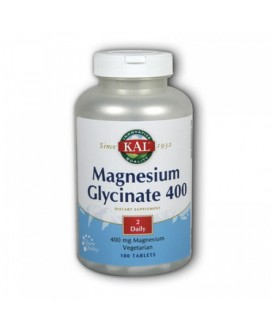 MAG GLYCINATE 180TABS