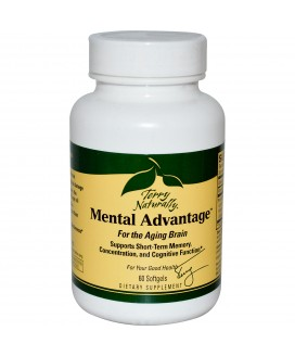 CURA-MED BRAIN (MENTAL ADVANTAGE) 60 SGELS
