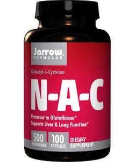 NAC 500 MGS 100 CAPS