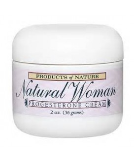 NATURAL WOMAN 2OZ PROGESTERONE CREAM