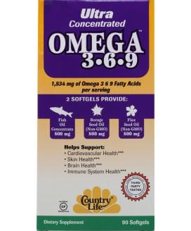 ULTRA OMEGA 3/6/9/ 90 SGELS