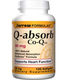 Q-ABSORB COQ10 30 MG. 120 SGEL