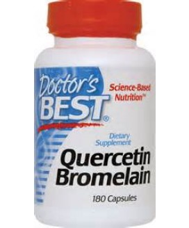 QUERCETIN AND BROMELAIN 180 CT.