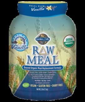 RAW ORGANIC MEAL 2.5 LB VANILLA