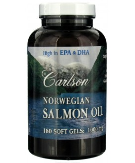NORWEGIAN SALMON OIL 1000 MG 180S-GELS