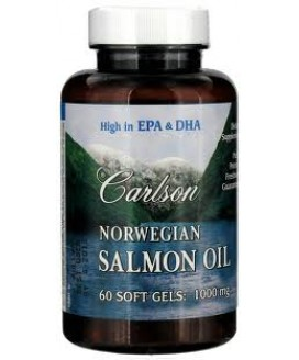 NORWEGIAN SALMON OIL 1000 MG 60 S-GELS