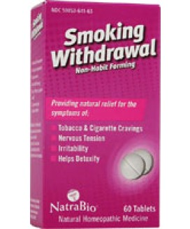 SMOKING WITHDRAWL 60 TABS