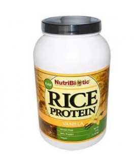 VEGAN RICE PROTEIN 21 OZ VANILLA
