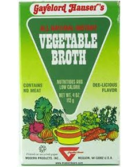 VEGETABLE BROTH 8 OZ.