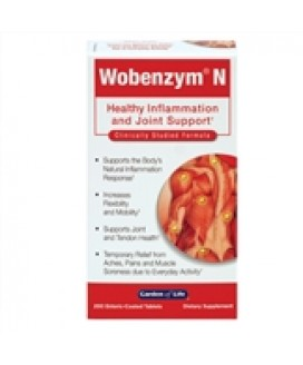 WOBENZYME 200TABS