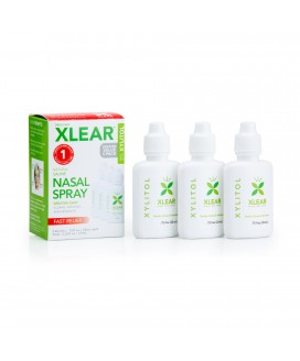 XLEAR NASAL WASH .75 OZ 3 PACK BOX